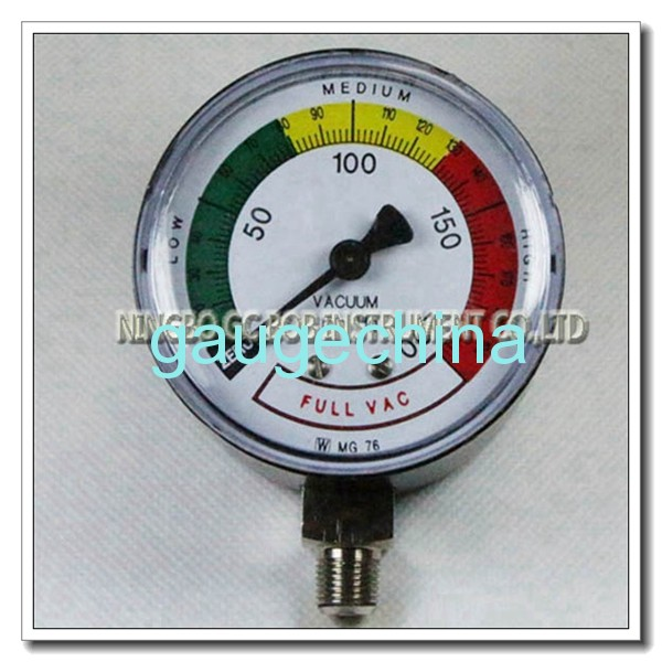 High Pressure Vacuum Gauge : Low pressure vacuum gauge gc